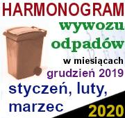 Odbiór odpadów I kw. 2020