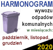 Odbiór odpadów 4 kw. 2020