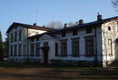 Dwór murowany w Kołacinie II poł. XIX w.