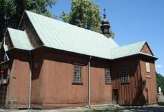 Kościół parafialny p.w. Wszystkich Świętych w Kołacinku 1788r. XVIIIw.