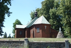 Zespół kościoła parafialnego p.w. Wszystkich Świętych w Kołacinku - ogrodzenie