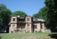 Dwór murowany w Kołacinku II poł. XIX w.