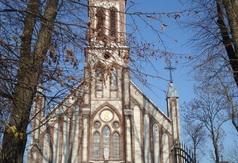 Zespół kościoła Mariawitów - Kościół w Woli Cyrusowej Koloni 1912r.