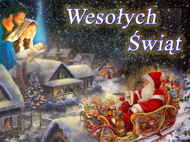 Gmina Dmosin - Wesołych Świąt Bożego Narodzenia