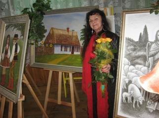Prace plastyczne: Obrazy i portrety wykonane przez mgr Mariannę Walczak - Nauczyciela z Kwiatkowic. Wyst