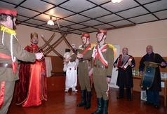 Dnia 14 lutego 2010r. grupa kolędnicza HERODY występowała w miejscowości Łazory.