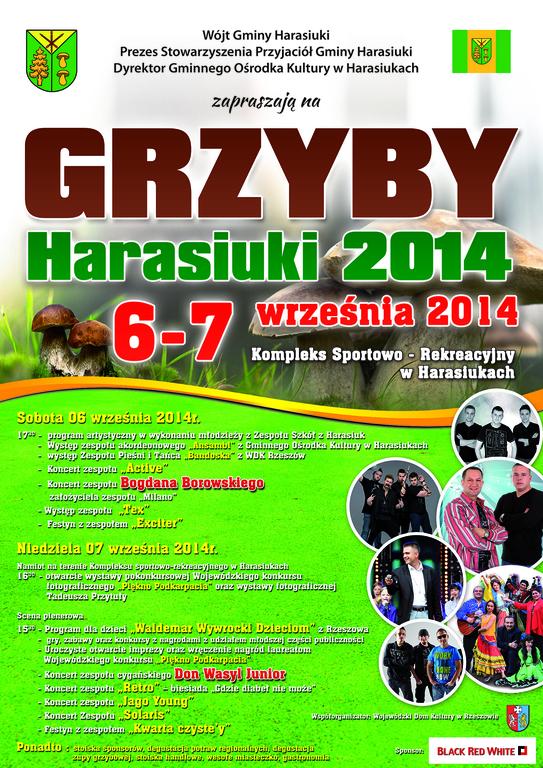 GRZYBY HARASIUKI 2014