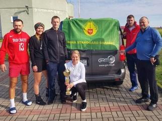 Pełnym sukcesem zakończył się wyjazd ekipy siatkarzy reprezentującej Gminę Starogard Gdański na VI