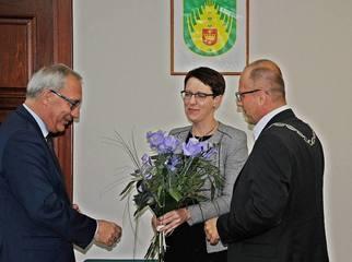 Podczas dzisiejszej sesji Rady Gminy Starogard Gdański obecny był poseł Kazimierz Smoliński. Radni mi