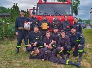 Strażacy podsumowali rok. 58 pożarów, 164 miejscowe zagrożenia i 184 interwencje – tak w liczbach p