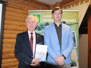 W Grodzisku Owidz zorganizowaliśmy promocję książki Mateusza Kubickiego Zbrodnia w Lesie Szpęgawskim