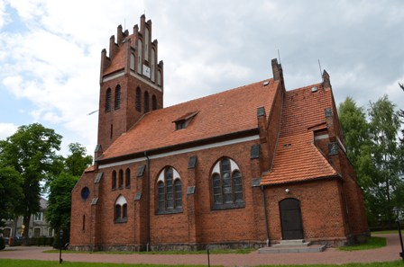 Kościół w Koźmińcu