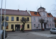 Budynek Urzędu Miejskiego Gminy Dobrzyca.