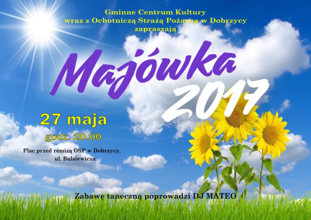 Plakat Majówka 2017. (link otworzy duże zdjęcie)