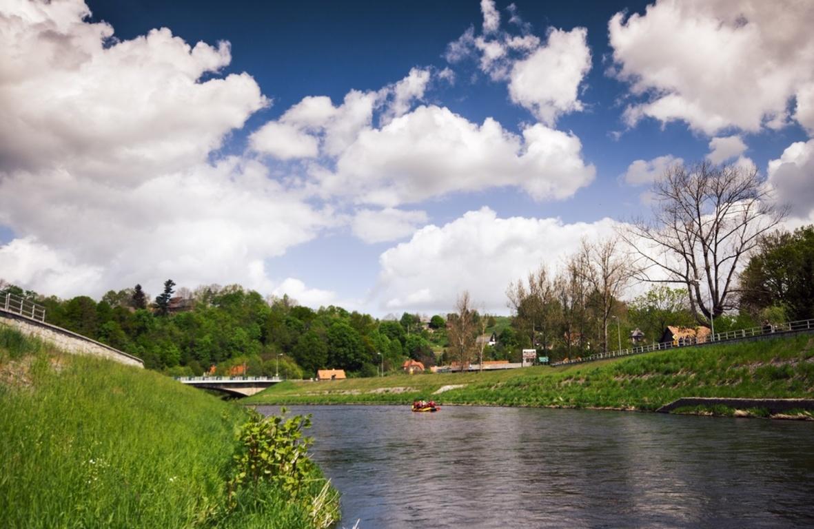 spływ pontonowy rzeka Bóbr