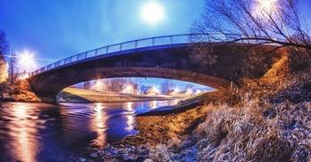 most na rzece Bóbr we Wleniu