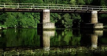 wiadukt na rzece Bóbr