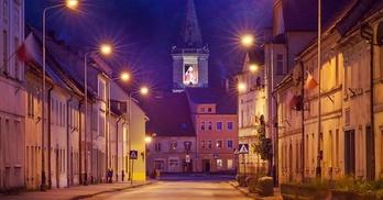 wieża kościelna we Wleniu