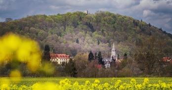 wieża kościelna - Wleń