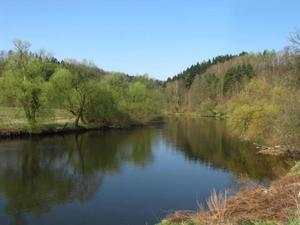 rzeka Bóbr- Siedlęcin