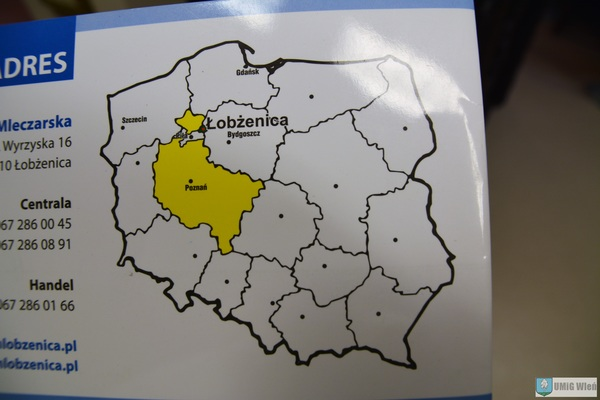 Łobżenica na mapie Polski