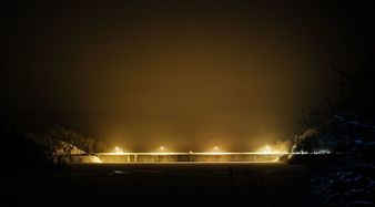 Zapora Pilchowice nocąFot. P. Zatylny
