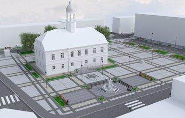koncepcja przebudowy rynku we Wleniu