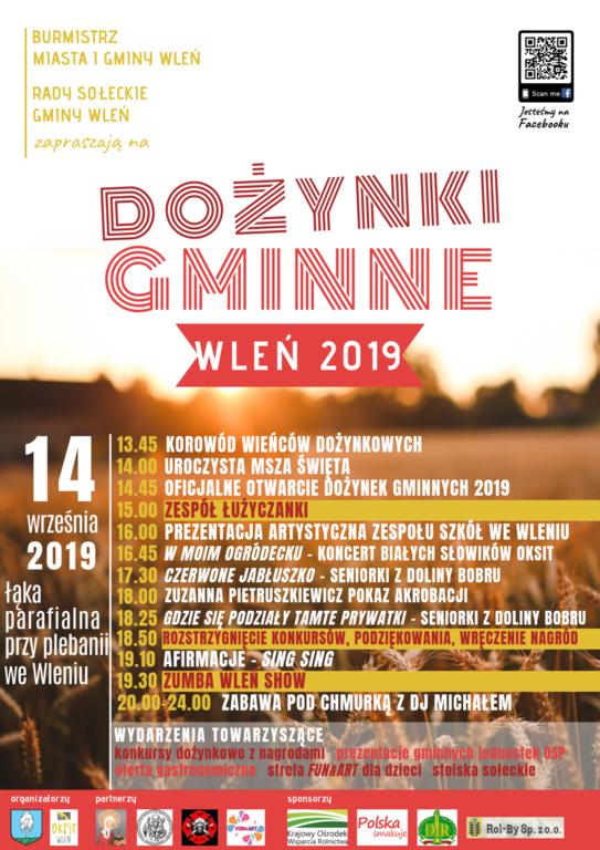 plakat dożynki gminne 2019 (link otworzy duże zdjęcie)