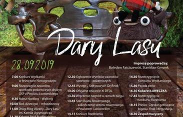 Plakat Dary Lasu
