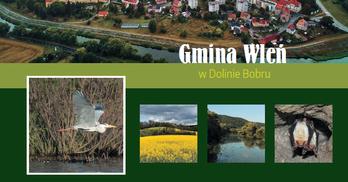 Album przyrodniczo-edukacyjny Gmina Wleń w Dolinie Bobru strona tytułowa (link otworzy duże zdjęcie)