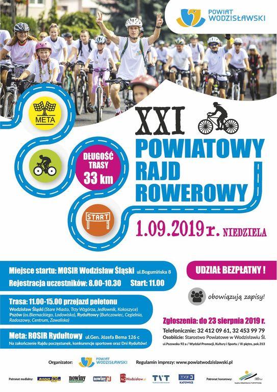 XXI Powiatowy Rajd Rowerowy