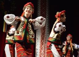 Doroczny koncert z cyklu Kultura ukraińska z daleka i z bliska, 19 listopada 2016 r.Na scenie Węgorze