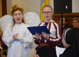 VIII Przegląd Kolęd, Wertepów i Szczedriwek, 21 stycznia 2017 r. Spotkanie odbyło się w cerkwi grec