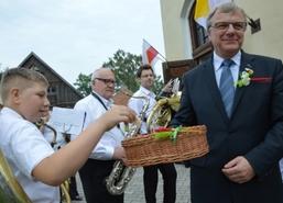 Dożynki Powiatowe w Budrach, 10 września 2017 r. W programie tradycyjnie znalazły się konkursy (na