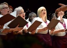 Noworoczna Gala Kolęd, 5 stycznia 2018 r. W Węgorzewskim Centrum Kultury wystąpiły chóry: Moderato