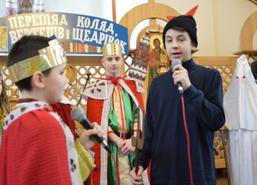 IX Regionalny Przegląd Wertepów, Kolęd i Szczedriwek, 20 stycznia 2018 r., cerkiew pw. Świętego Krzy