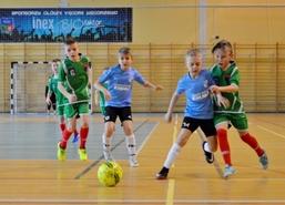 Turniej Piłki Nożnej o Puchar Dominika i Patryka Kun w cyklu Vęgoria Cup, 17 lutego 2018 r. W hali mi