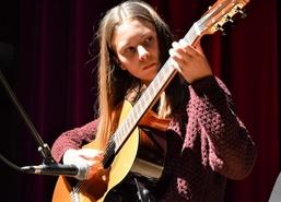 Doroczny popisowy koncert słuchaczy Węgorzewskiej Akademii Muzyki działającej w Węgorzewskim Centrum