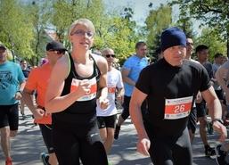 Półmaraton Węgorza, największa, najpopularniejsza impreza sportowa w gminie Węgorzewo, 2 maja 2018 r
