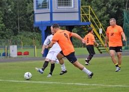 Turniej Piłki Nożnej Oldbojów o Puchar Burmistrza Węgorzewa, 14 lipca 2018 r. Rozgrywki odbyły si�