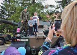 Święto 11. Mazurskiego Pułku Artylerii w Węgorzewie, 31 sierpnia 2018 r. Dzień w pułku rozpoczą�