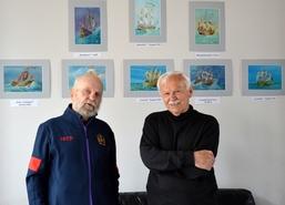 od 4 maja do 21 maja 2019 r. w Starej Rzeźni w Szczecinie prezentowana była wystawy morskich akwarel Je