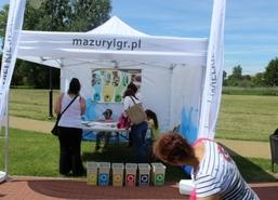 W sobotę 1 czerwca br. w Parku Helwinga w Węgorzewie odbył się festyn z okazji Międzynarodowego Dnia