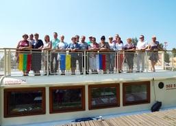 W tym roku w obchodach Dni Węgorzewa uczestniczyły delegacje przedstawicieli z miast partnerskich: Jawo