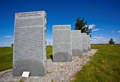 Bloki,w których spoczywają żołnierze z I wojny światowej