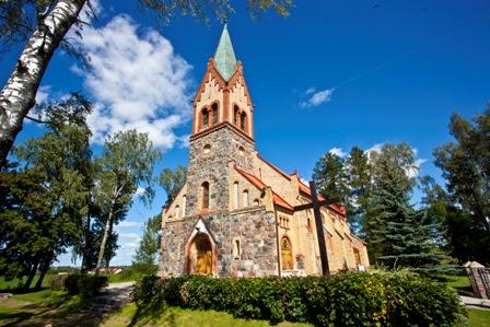 Neogotycki kościół z 1895 roku