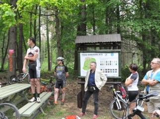 Otwarcie Leśnego Szlaku Powiatu Ełckiego