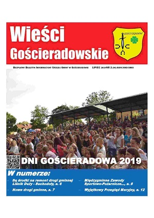 Wieści Gościeradowskie Numer 2 2019 rok [300x424]