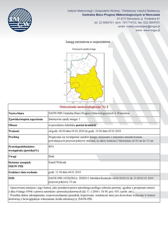 Ostrzeżenie meteorologiczne (link otworzy duże zdjęcie)