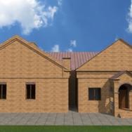 Wizualizacja Centrum Kultury w Gościeradowie (link otworzy duże zdjęcie)